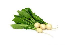 Organic Baby Turnips