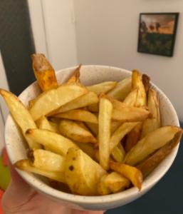 organic sweet potato fries